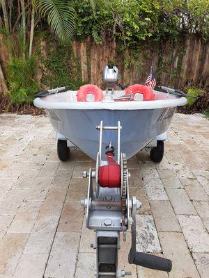 Dinghy 8' Motor / Trailer for Sale in Miami, FL