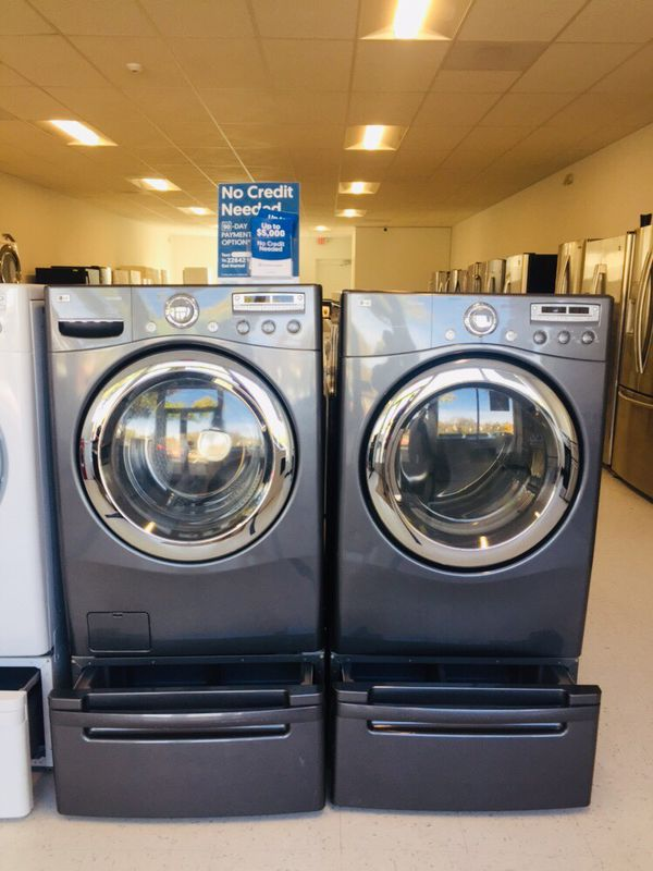 🔥🔥washer and electric dryer set 90 days warranty 🔥🔥