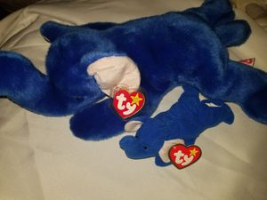 TY Beanie Baby Peanut and Teanie Baby Peanut for Sale in North Highlands, CA