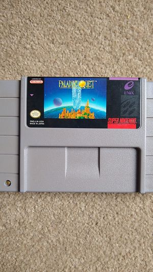 Paladin's Quest Super Nintendo (SNES) Authentic for Sale in Lynnwood, WA