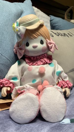 Precious Moments Porcelain Bisque Clown Doll for Sale in Redmond, WA