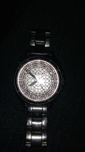 Coach watch and glasses (used) great condition watch is fully functional for Sale in Santa Ana, CA
