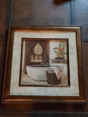 Picture and frame for Sale in Lisle, IL