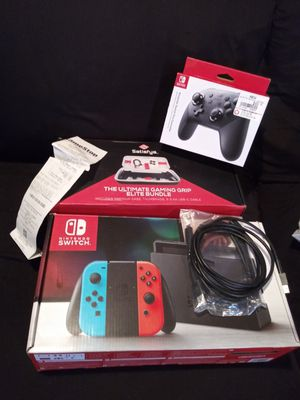 Nintendo Switch with Accessories for Sale in Yucaipa, CA