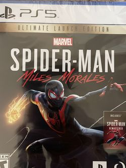 PS5 Spiderman Ultimate Launch Edition for Sale in Houston,  TX