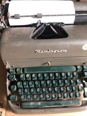 Remington vintage typewriter for Sale in Richmond, VA