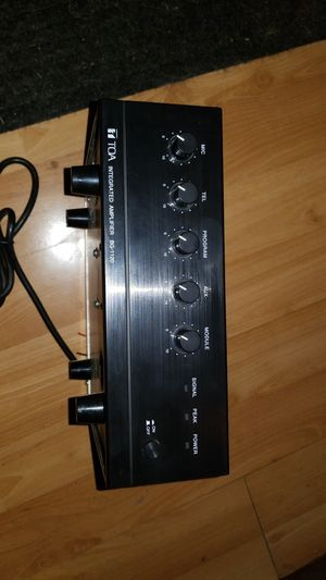TOA Intergrated Amplifier BG-1120 for Sale in Seattle, WA