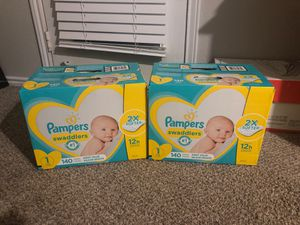 Pampers swaddlers for Sale in Colleyville, TX