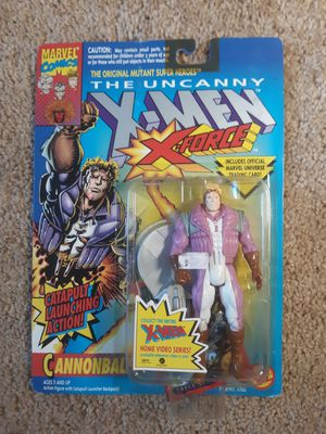 X-men Cannonball Marvel Action Figure Vintage 1993 for Sale in Greer, SC