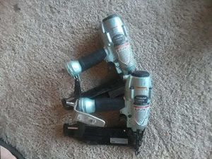 Hitachi finish nail gun for Sale in Silver Spring, MD