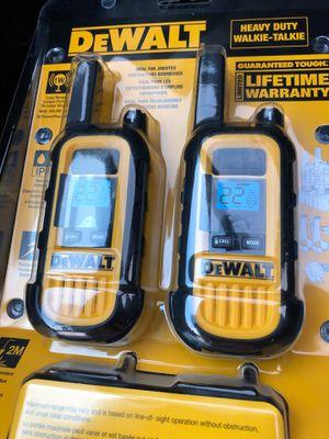 DeWalt heavy duty walkies for Sale in San Antonio, TX