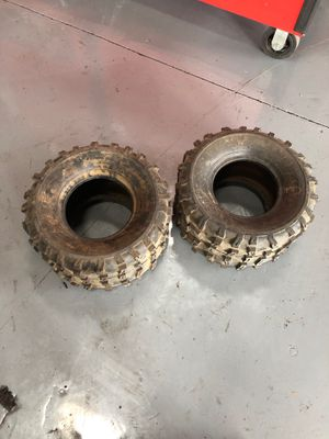 BRAND NEW MAXXIS REAR ATV TIRES for Sale in Las Vegas, NV