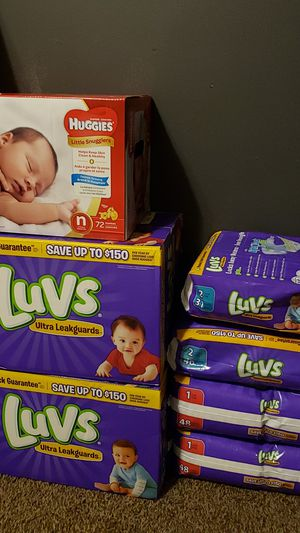 Brand New Diapers for Sale in Buckingham, VA