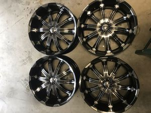 22 inch rims 6 lug! Off Ford F-150 for Sale in Kent, WA