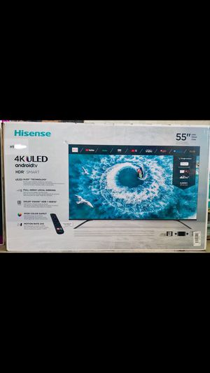 55 inch hisense android 4K R8 smart tv for Sale in Ontario, CA