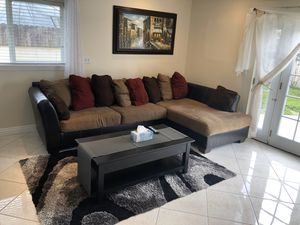 Furniture Sale: queen bed frames, dining table, patio furniture, sectional for Sale in Anaheim, CA