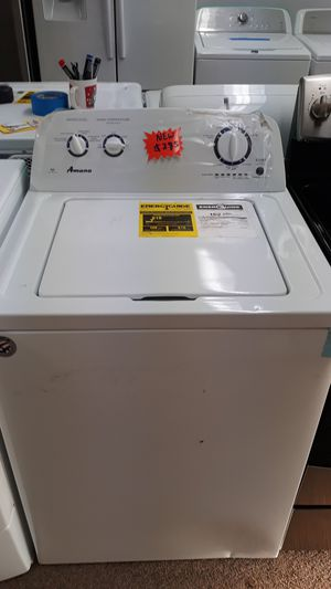White top load washer brand new scratch and dent for Sale in Laurel, MD