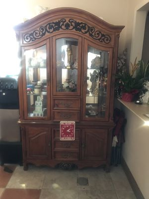 Beautiful antique 8 set dining table what China for Sale in Lakewood, CA