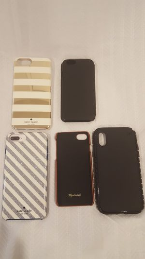 Kate Spade(2), Jack Spade NEW YORK, Speck* and Madewell leather Phone Case for Sale in Vienna, VA