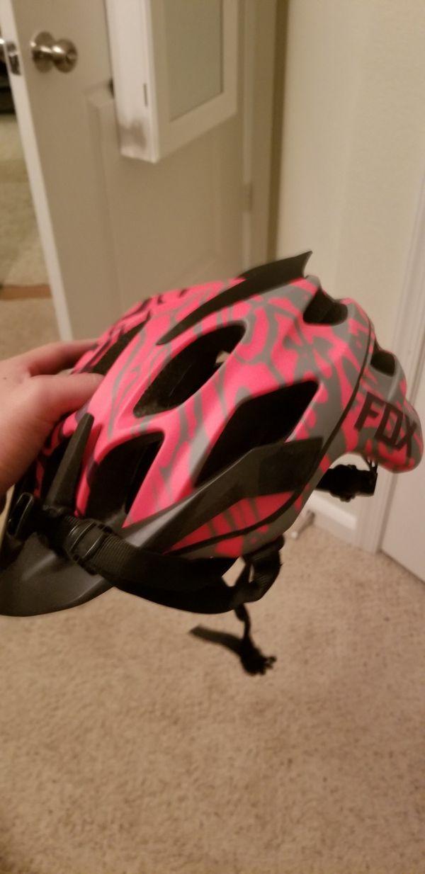Brand New Bicycle helmet orange size XS