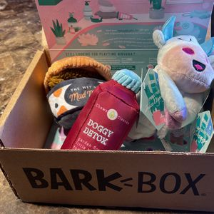 (3) Squeaky Dog Toys Bark Box for Sale in Goodyear, AZ