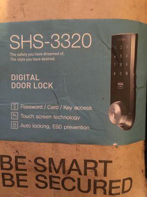 Samsung Digital Door Lock, Touch screen technology , password/card/key access, Auto Locking for Sale in San Luis Obispo, CA