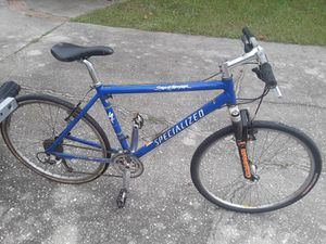 """Specialized Stump Jumper bike, 19"""" frame, 26"""" tires, Manitou Answer Pro fork, Deore LX components. for Sale in Wesley Chapel, FL"""