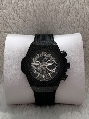 Watch - Brand New Men's Wrist Watch - Black Skeleton Dial - Black Rubber Strap - Battery Watch for Sale in Chicago, IL
