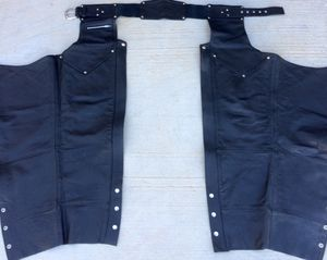HARLEY DAVIDSON MOTORCYCLE RIDING CHAPS $225.00 New Woman Large Men Small Never used for Sale in Henderson, NV