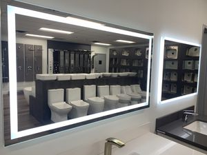 Bathroom Mirrors Many sizes ready to go (FOG LESS) for Sale in Deerfield Beach, FL