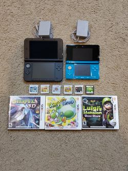 Nintendo 3DS + 3DS XL &9 Games for Sale in Renton,  WA