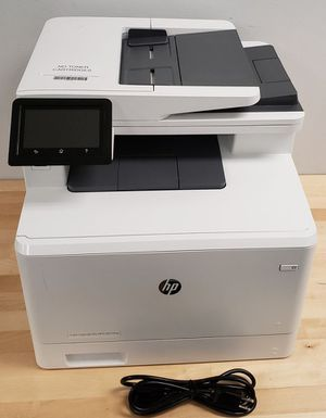 HP Color LaserJet Pro MFP M477FNW All-In-One Laser Printer Good Shape (73576) for Sale in Austin, TX