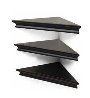 3pk triangle black corner shelf 🔥 🔥 for Sale in Houston, TX