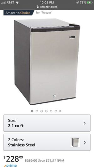 2.1 cu. ft. Whynter Upright Freezer for Sale in Seattle, WA