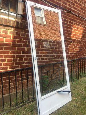 Storm door for Sale in Washington, DC