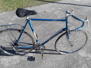 "Peugeot Record Du Monde 10 Road bike, 65cm frame, 27"" tires (need new tires) for Sale in Wesley Chapel, FL"