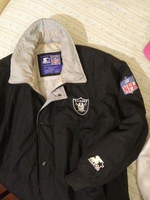 NFL. Raiders starter jacket for Sale in Milton, FL