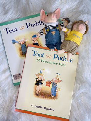 Toot & Puddle Book Set with Plush Characters for Sale in Portland, OR