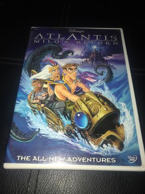 Disney's Atlantis Milos Return DVD for Sale in Riverside, CA