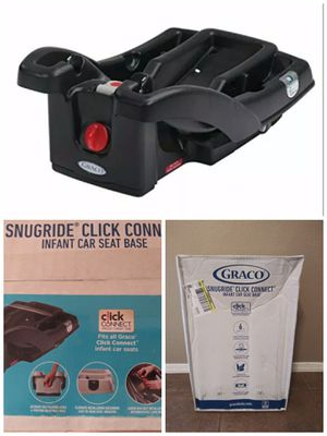 Gracie Snugride Click Connect Baby Car Seat BASE - NEW IN BOX for Sale in Mesa, AZ