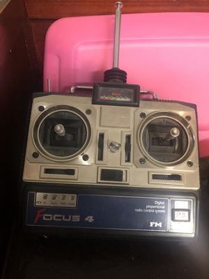 Focus 4 radio controller for planes for Sale in Bangor, ME