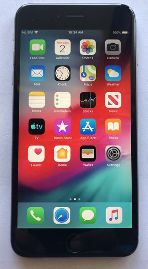 Very Clean iPhone 6 Plus 16GB unlocked for Sale in MAGNOLIA SQUARE, FL