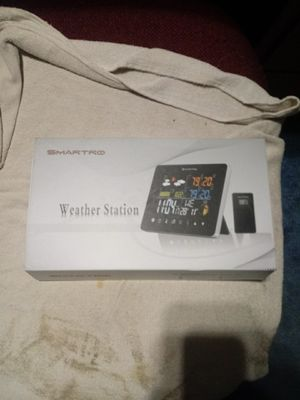Brand New. Still in box. Clock & Weather Station!! for Sale in Portland, OR