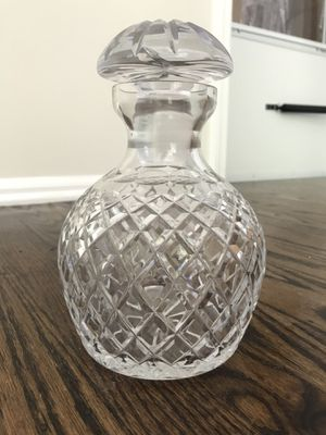 Cut Glass Liquor Decanter for Sale in Moorestown, NJ