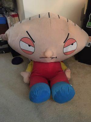 Large Stewie stuffed animal for Sale in Chesapeake, VA