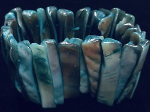 Pearlized turquoise bracelet for Sale in Silver Spring, MD