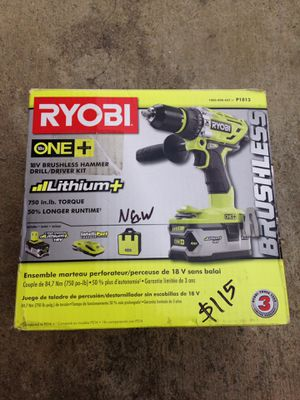 Ryobi 18v Hammer drill kit for Sale in Los Angeles, CA
