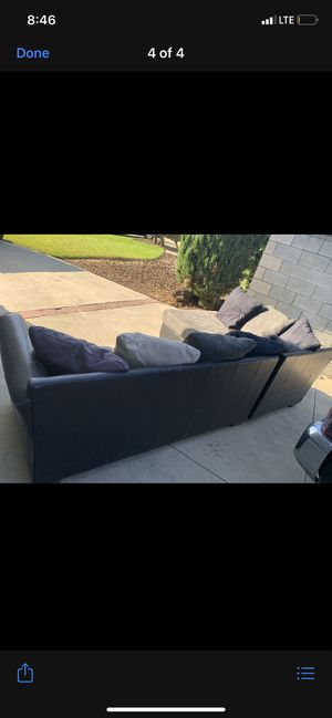 L shape couch for Sale in Colton, CA