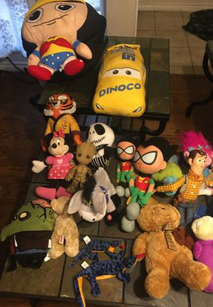 Stuffed toys for Sale in Mesquite, TX