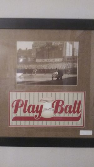 Babe Ruth pictures in frame for Sale in Norfolk, VA